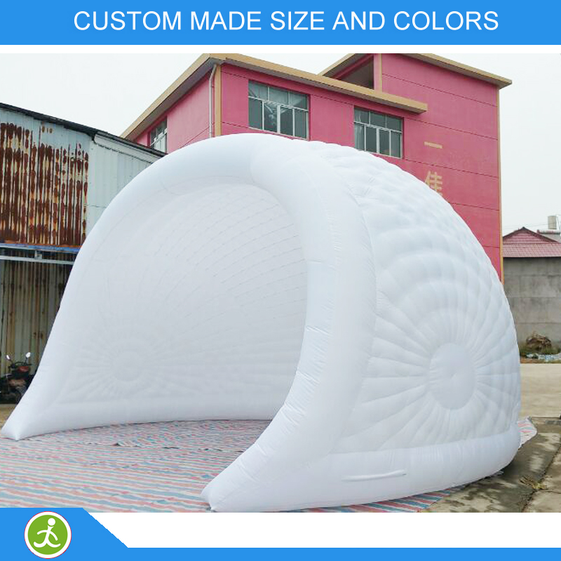 Portable Dome House : Portable outdoor inflatable dome tent with led