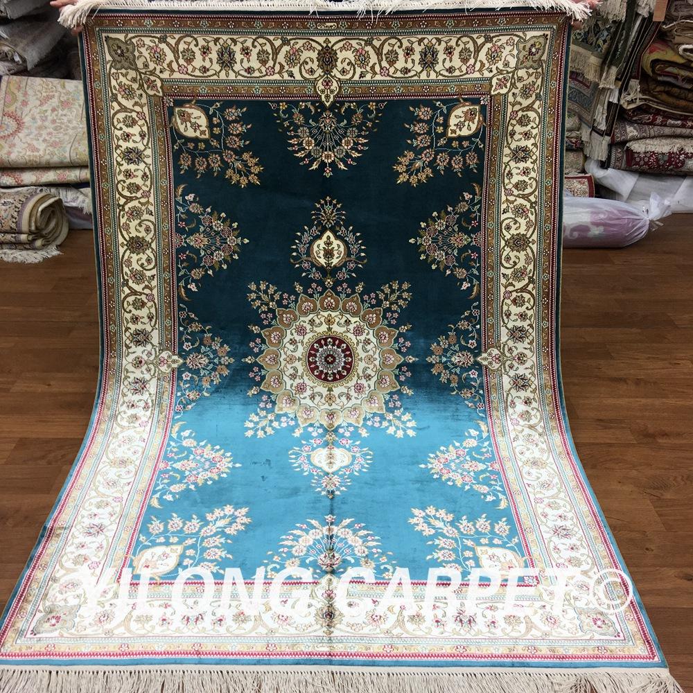 tapis de soie achetez des lots petit prix tapis de soie en provenance de fournisseurs chinois. Black Bedroom Furniture Sets. Home Design Ideas