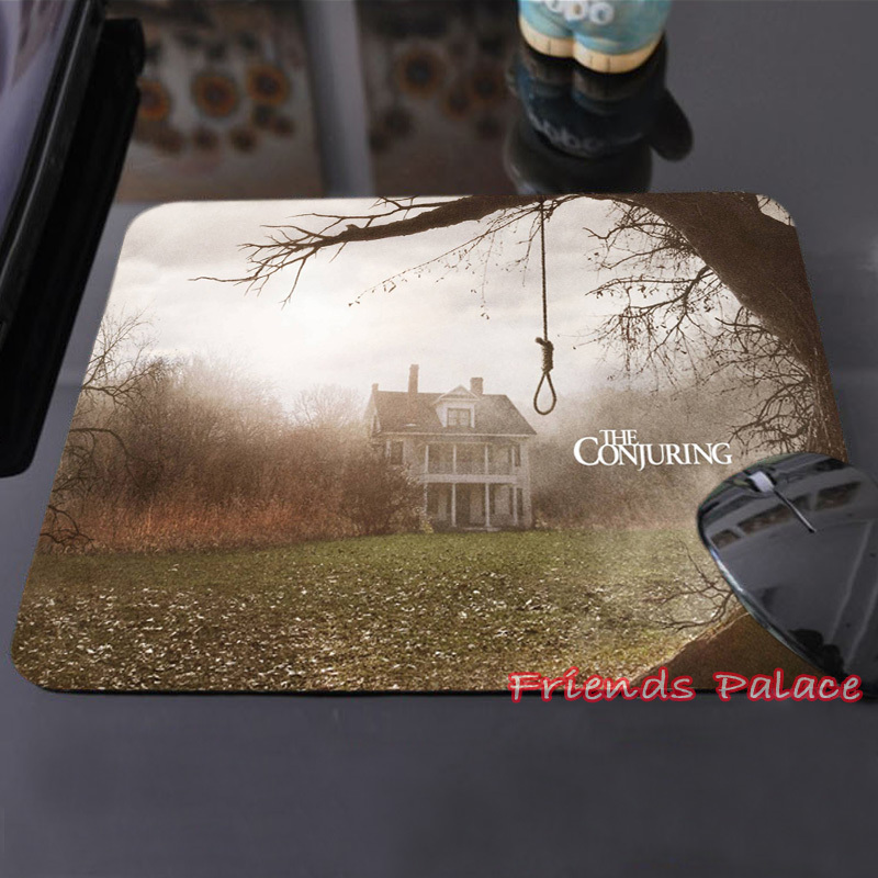 The Gloomy Villa in The Conjuring The Deadly Tree Create Your Own Style Horrible Mouse Pad Computer Laptop Custom-made Mouse Mat(China (Mainland))