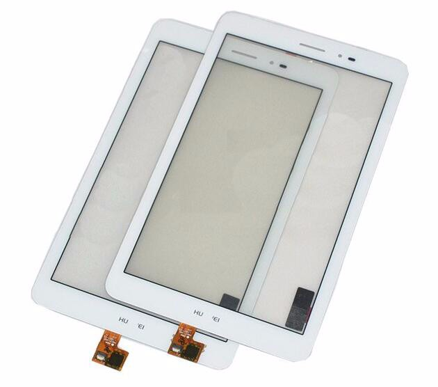 For Huawei Mediapad T1 3G S8-701u White Touch Panel Touch Screen Digitizer Glass Lens free tools
