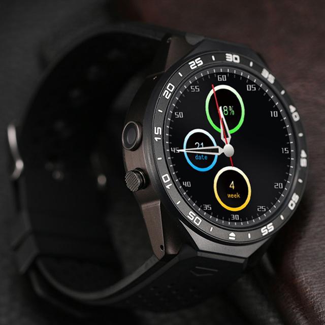 Часы KW88 3 Г WI-FI GPS smart watch Android 5.1 OS MTK6580 ПРОЦЕССОР 1.39 дюймов Экран 2.0MP камеры smartwatch для apple moto
