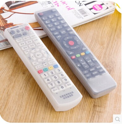 Home air conditioning TV remote control sets of silicone protective cover and dust jacket waterproof Air conditioning protective(China (Mainland))