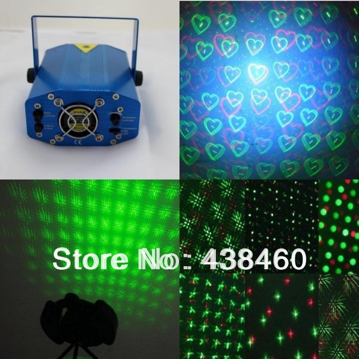 Mini 4in1 Laser Projector Stage Lighting DJ Disco Party Bar Nightclub lights 04A(China (Mainland))