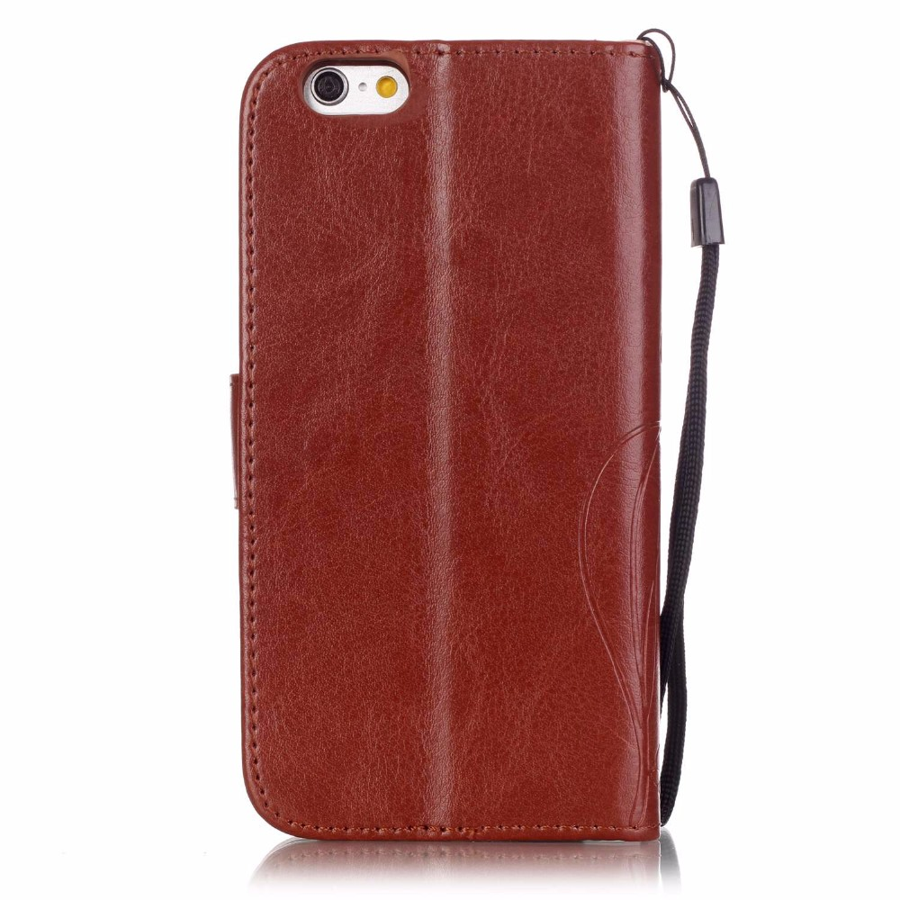 Leather Cases for iPhone 7! Fashion Wallet Flip PU Leather Phone Cases for APPLE iPhone 7 Coque with logo window Accessories