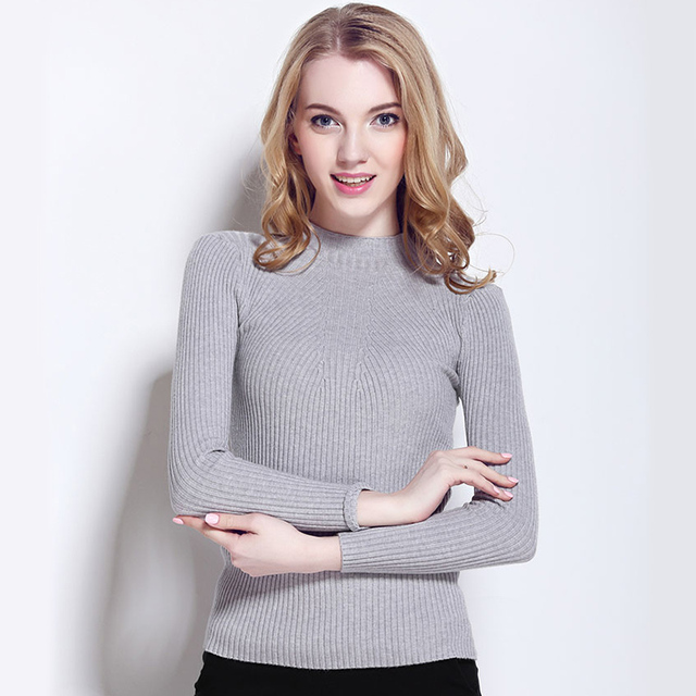 WAIBO BEAR 2016 Cashmere свитер Женщины Spring Cashmere Pullovers Длинный Рукав ...