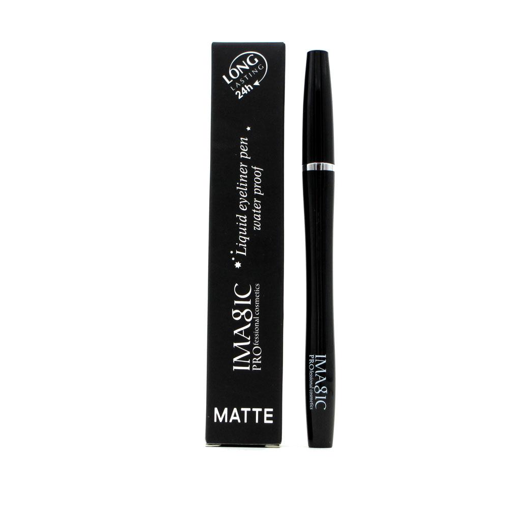 IMAGIC Black Long Lasting Eye Liner Pencil Waterproof Eyeliner  Cosmetic Beauty Makeup Liquid Eyeliner Pen