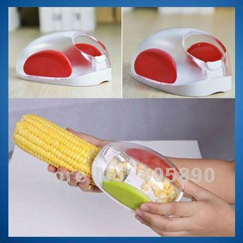 New Corn Threshing Device Cute Corn Stripper for Cooking