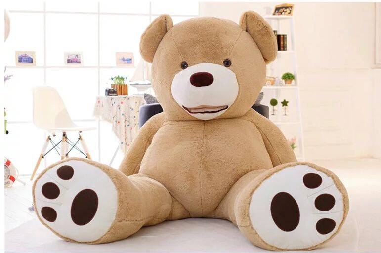 huge lovely plush teddy bear toy new ceative big teddy bear toy gift about 160cm(China (Mainland))