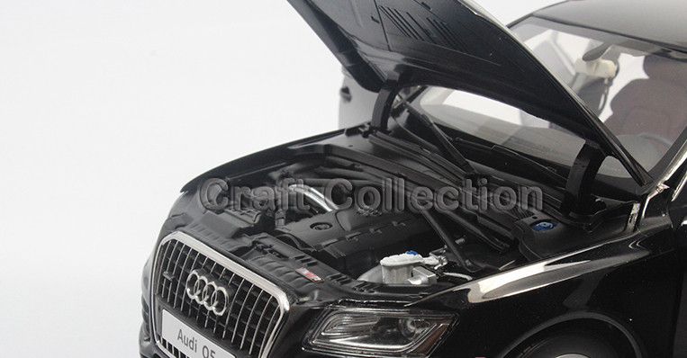 Kyosho Automobile Mannequin Audi Q5 1:18 Black Luxurious Automobile Simulation Mannequin Cross Nation Automobile Off-road Automobile