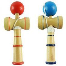 High Quality Kid Kendama Coordinate Ball Japanese Traditional Wood Game Skill Educational Toy(China (Mainland))