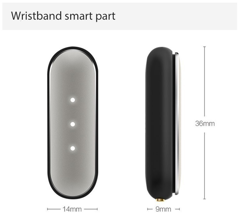 image for Original Xiaomi Mi Band 1S Pulse 1A Smart Band Miband For Android 4.4