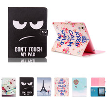 For Cover Apple iPad 2 iPad 3 iPad 4 Smart PU Leather Tablet Case Stand Flip Cute Kids Cover Screen Protector Film