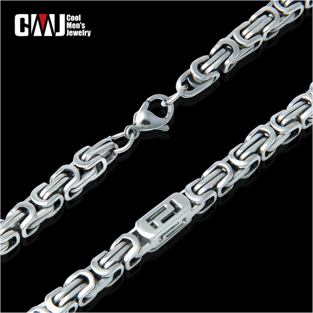 Male male fashion titanium necklace fashion square necklace male accessories necklace