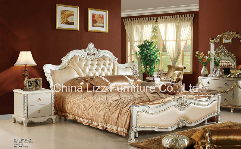 Lizz Modern Leather Bed Set.Soft and good qulity.Let the stately charm of this beautiful Modern Bed Sets grace your bedroom!(China (Mainland))