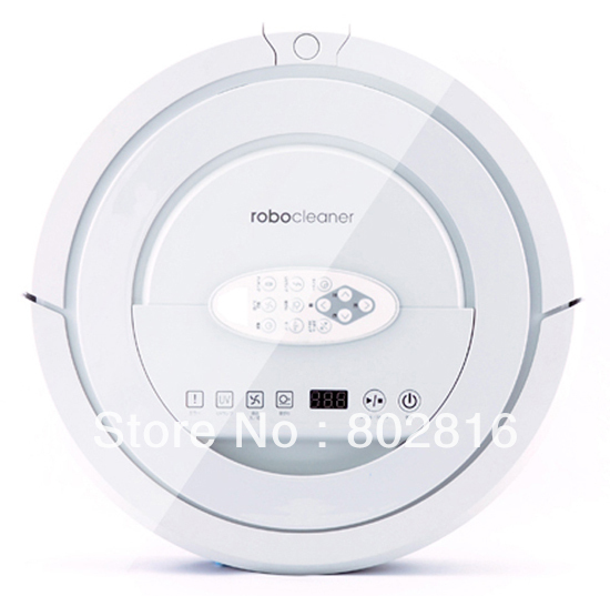 2015 New Arrival Top Grade Auto Robot Vacuum Cleaner With Ultrasonic wall,V-Shaped Rolling Brush,Remote Controller ,UV, Schedule(China (Mainland))