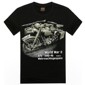 (Harajuku T Shirt)Spring And Summer 3D T-Shirt Men'S Vintage Motorcycle T Shirt Novelty Casual Streetwear Men And Women Tops