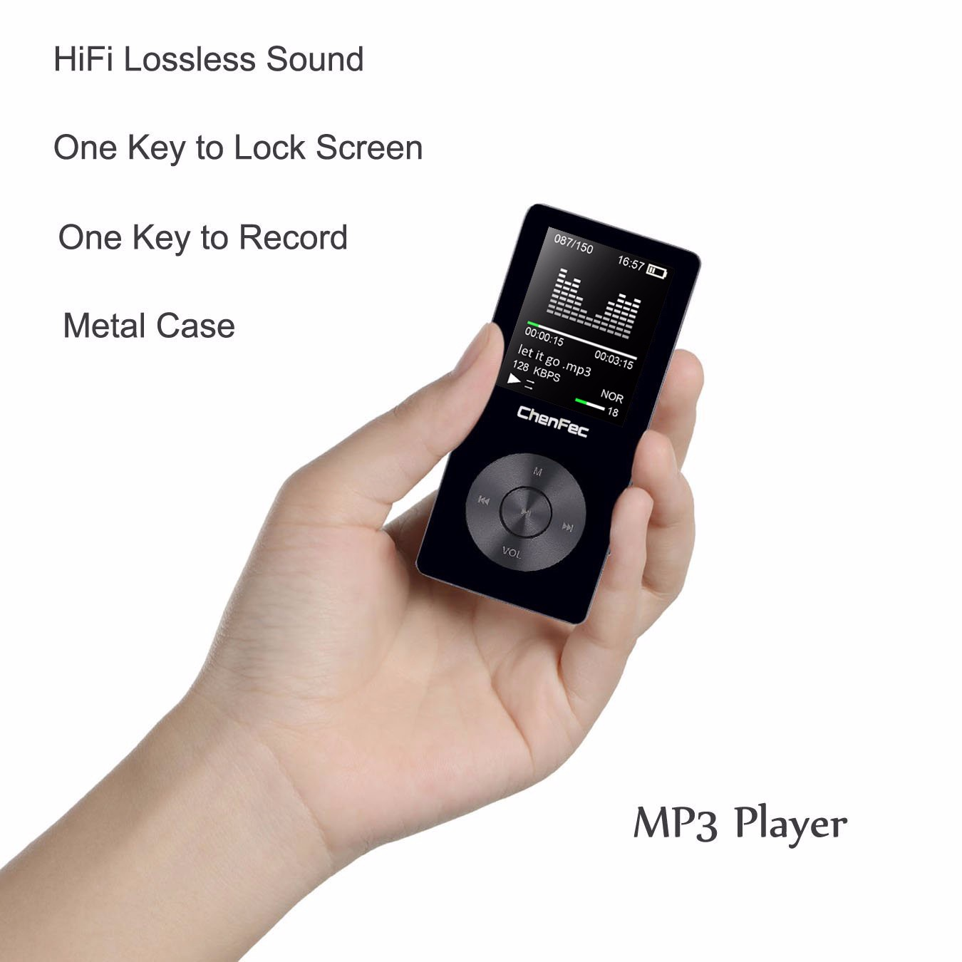 Mini mp4 player 8GB Recorder FM Radio AMV/AVI Video Player Sport Speaker mp4 Music Player Support 128g TF Card , earphone gift