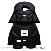 Cute Cartoon Star Wars 3D Rubber Silicon Back Cover Case LG Prime II - Made In China Centre store