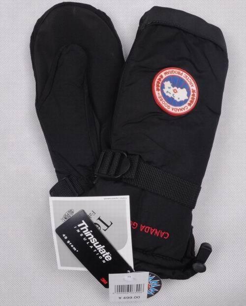 Goose outdoor cold-proof thermal windproof ski gloves Men gloves