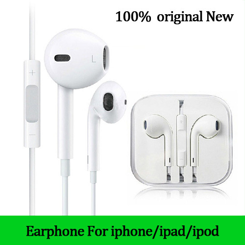 Best sound Original new earphone for iphone 6 fone de ouvido auriculares headphones headset for IPHONE 4 4s 5 5s for ipad xiaomi(China (Mainland))