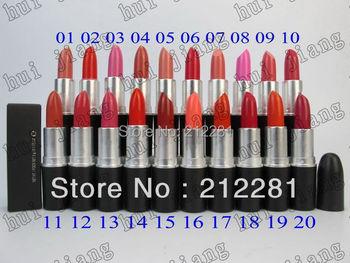 Factory Direct! 20 Pcs New Arrival 3g Levres Lip Stick!