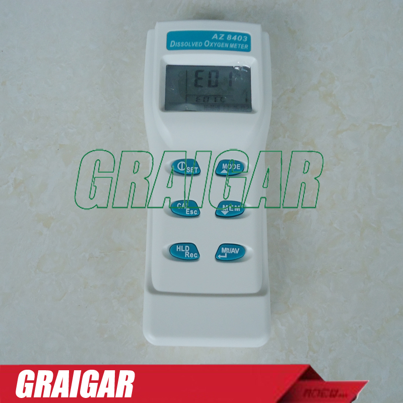 Genuine AZ-8403 dissolved oxygen meter freshwater aquaculture water quality tester<br>