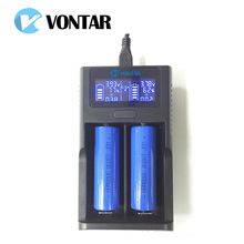 Smart LCD USB Battery Charger Smart for 26650 18650 18500 18350 17670 16340 14500 10440 lithium battery 3.7V Better than UM20