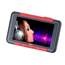 2016 New Arrival 8GB Slim MP3 MP4 MP5 Music Player With 4.3 Inch LCD Screen FM Radio Video Movie E-book Function(China (Mainland))