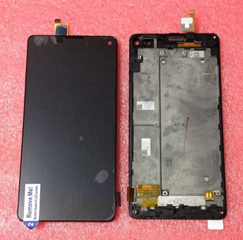 Lcd display+Touch screen digitizer with frame For ZTE Nubia Z5S mini NX403A black free shipping