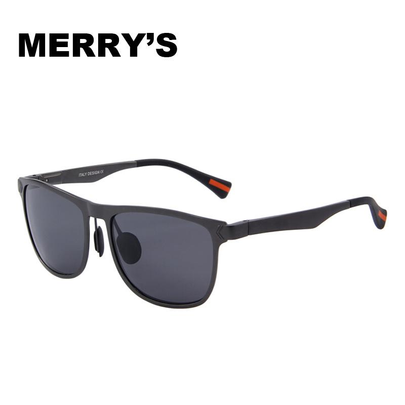 MERRY'S New Hot brand designer Aluminum Magnesium Polarized Aviator Sun Glasses Driving Sport Male Fashion Oculos men sunglasses(China (Mainland))