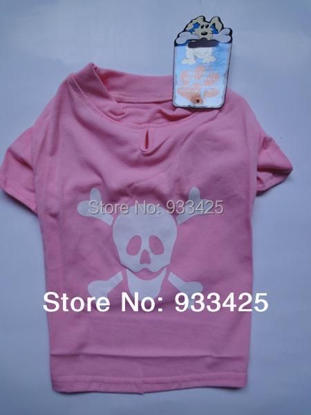 small dog clothes pet T-shirt(China (Mainland))