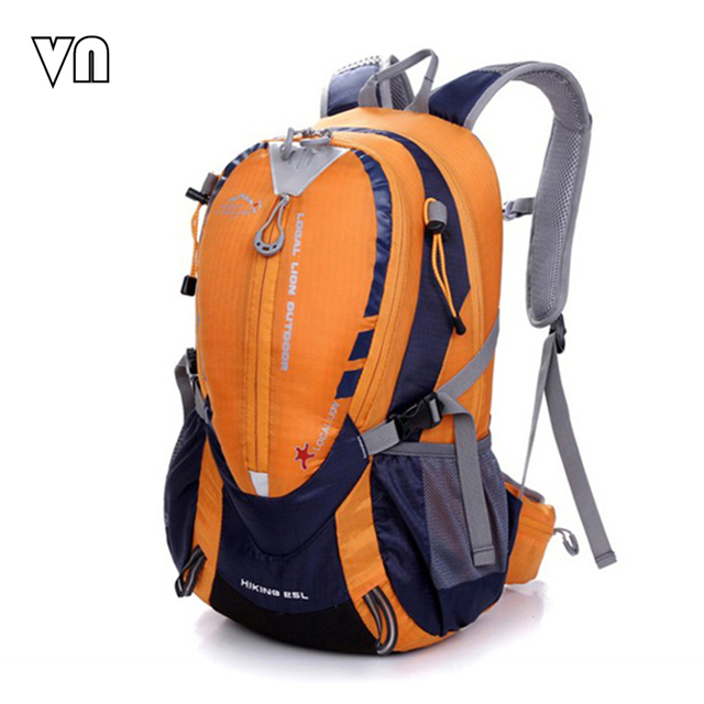 2016 VN Brands Men Backpacks Bicycle Backpacks Men's Travel Bags Waterproof  Backpack Nylon Women Shoulder Bag Can Hold A Helmet