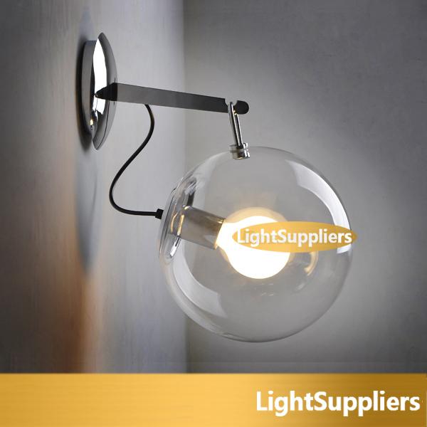 Здесь можно купить  Modern brief fashion DIA 250 glass lamps soap bubble wall lamp Living Room, Dining Room, Study, Bedding Room, Bathroom  Свет и освещение