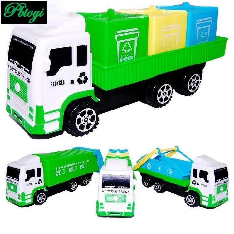Children puzzle garbage truck warrior engineering vehicle toy 100g PI0674(China (Mainland))