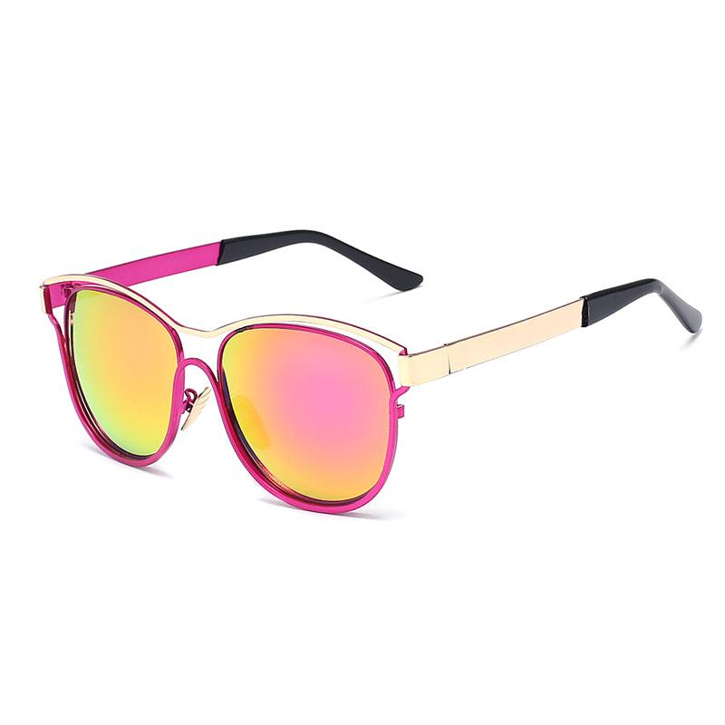 Newest Brand Cat Eye Sunglasses Women Hollow Metal Frame High Quality Sun Glasses Vintage Oculos UV400(China (Mainland))