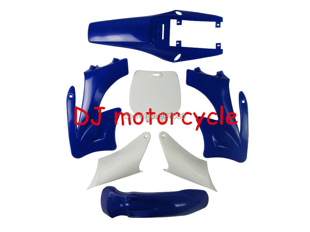 Free Shipping Mini Orion Plastic Covers 49cc Apollo Dirt Bike Plastics Kits 6 Color For Choice 70 2 Stroke(China (Mainland))