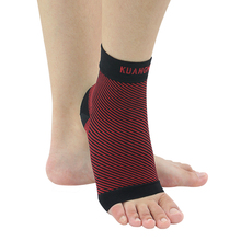 Kaungmi Elastic Breathable Ankle Support Fitness Sports Ankle Protection Band  Basketball Badminton Football Ankle Brace Guard(China (Mainland))