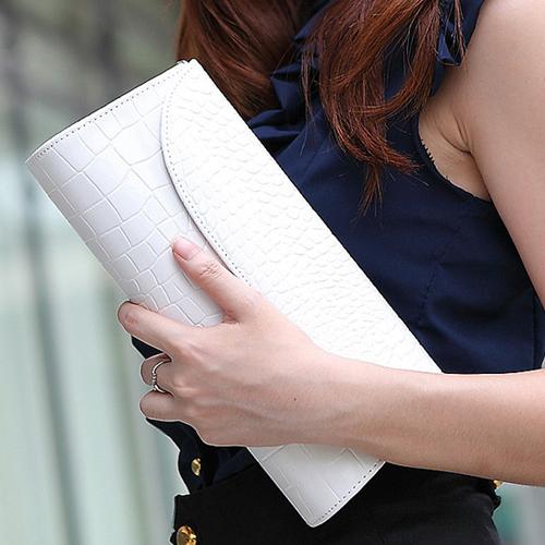 Hot Casual Women Messenger Bags Stone Pattern Lady Handbag PU Leather Clutch Wristlet Evening Bags Cosmetic rse Fashion Bags(China (Mainland))