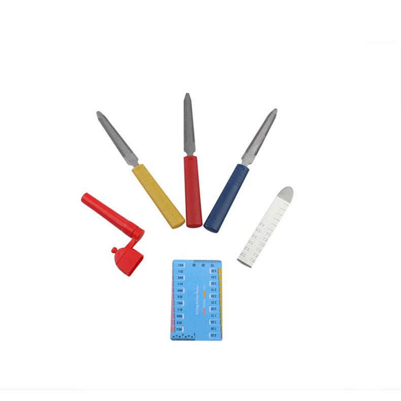Guitar Setup Kit Nut files/String Spacing Ruler/Action Gauge Luthier Tools   TB Sale<br><br>Aliexpress