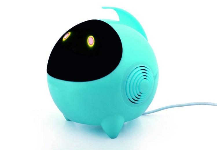 top 50pcs/lot mini speaker computer USB cartoon speakers spaceman smart speaker laptop mull-media pc speaker A single speaker(China (Mainland))