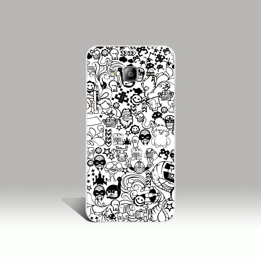 00129 Zed Duo Comics Characters cell phone case cover for Samsung Galaxy J1 ACE J5 2015 J7 N9150 2016(China (Mainland))