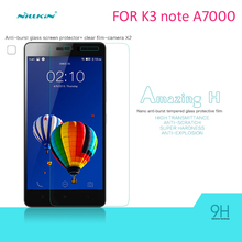 Lenovo K3 note(A7000) Tempered Glass Screen Protector NILLKIN Amazing H Nanometer Anti-Explosion 9h glass film with package