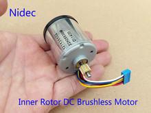 New Original DC12V 1400-3000RPM Mute Nidec Inner Rotor DC Brushless Motor With Driver Board Diy(China (Mainland))