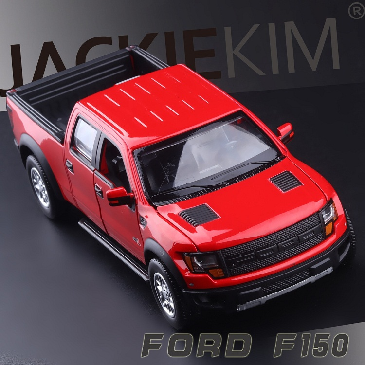 High Simulation Exquisite Model Toys CaiPo Car Styling Ford F150 Raptor Pickup Trucks 1:34 Alloy Car Model Best Gifts(China (Mainland))