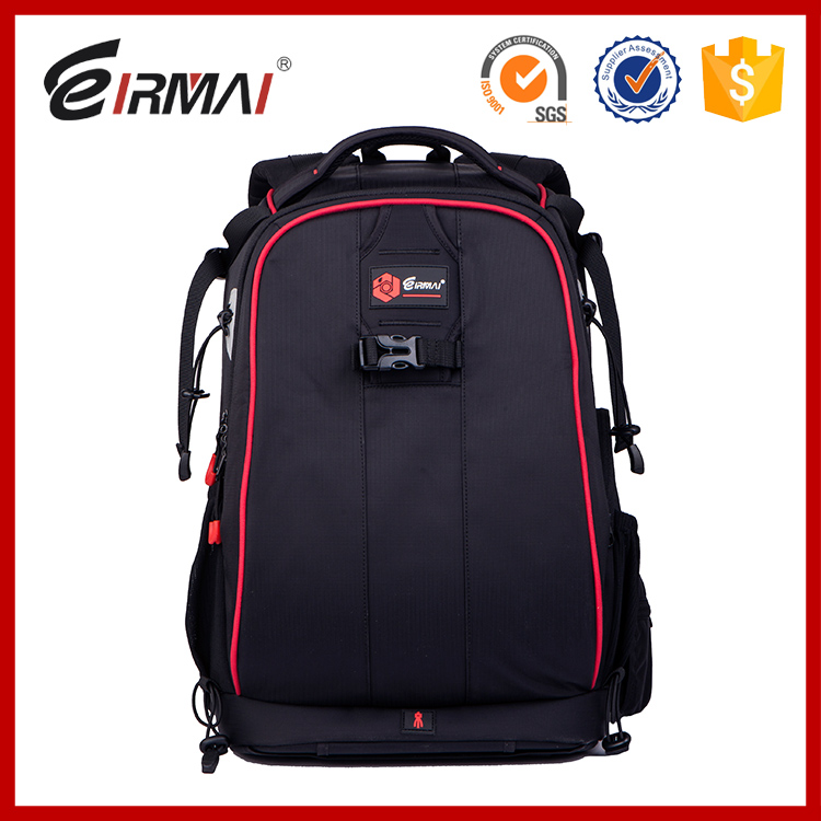 2016 NEW DSLR camera bags DSLR camera bags waterproof high-capacity backpack Red-Black camera cases(China (Mainland))