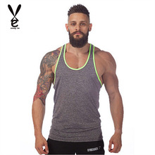 2015 New arrival solid summer cotton men sport vest,gym fitness sleeveless shirt, tank tops clothing,male fashion singlet