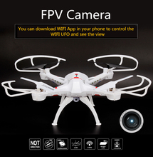 WIFI FPV Quadcopter RC Remote Control Helicopter Phone Headless Mode Drone Follow 2.0MP HD Camera - Fly hobby store