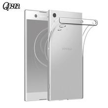 Buy Qosea Sony Xperia XA1 Ultra Phone Case Slim Silicone Ultra-thin Transparent Soft TPU Xperia XA1 Protective Cover Coque for $4.40 in AliExpress store