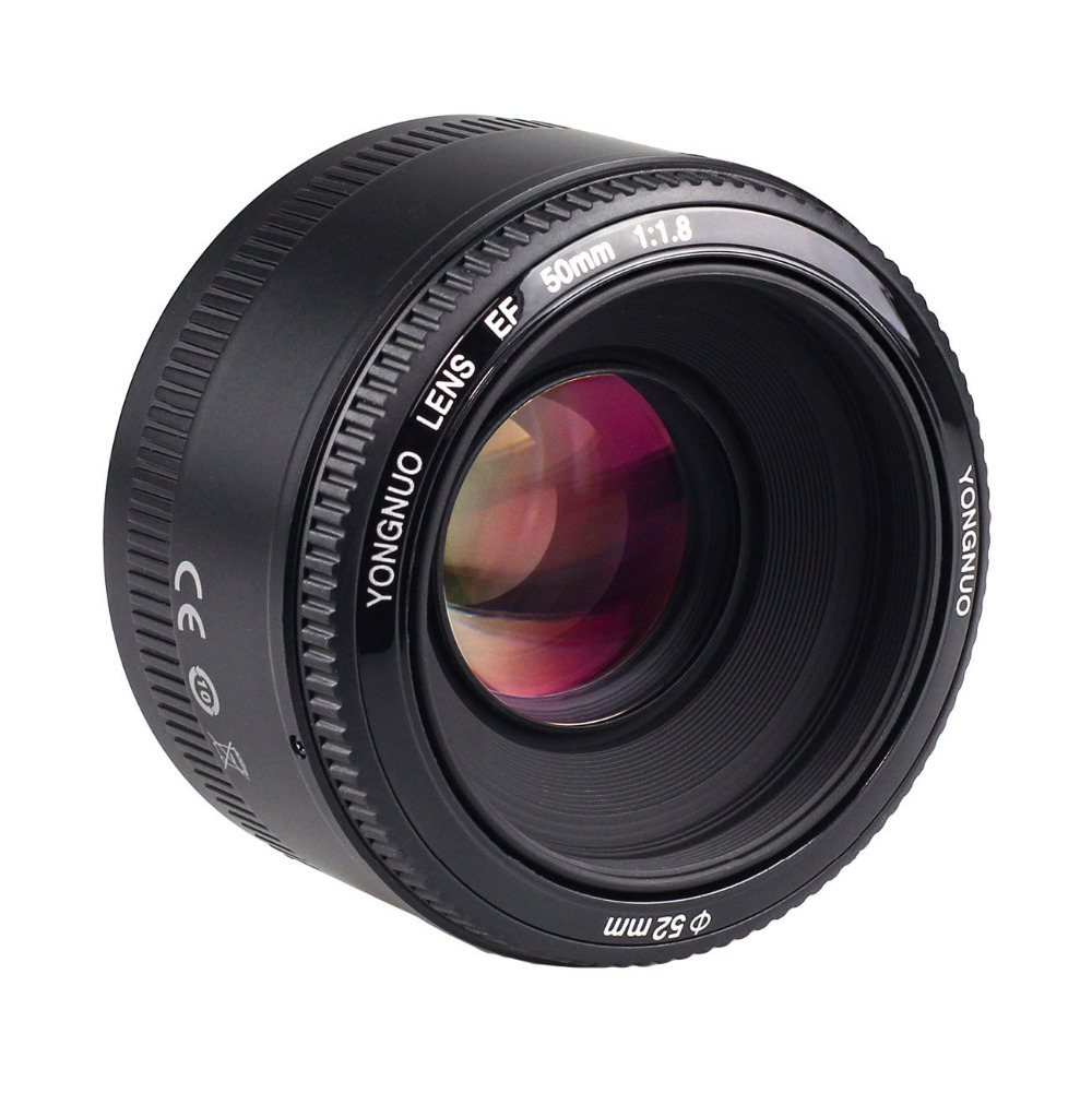 <font><b>YONGNUO</b></font> YN <font><b>50MM</b></font> F1.8 Large Aperture Auto Focus Lens For Canon EF Mount EOS Camer