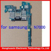 free shipping 100% working original mainboard for Samsung Galaxy N7000 Europea version Motherboard 100% original good quality